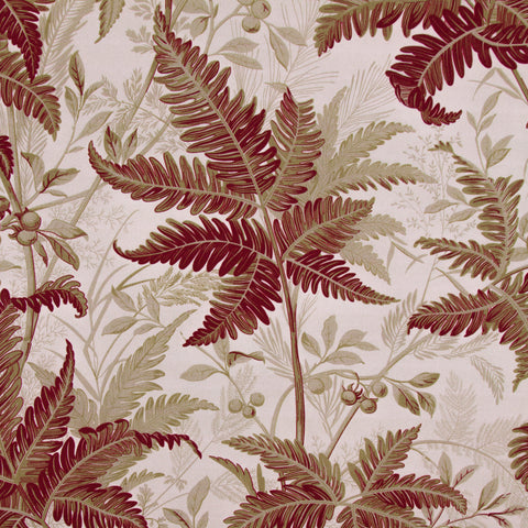 Tropic Leaves/Oxblood
