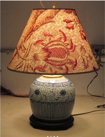 Hand Made Pierre Frey Fabric Lampshades