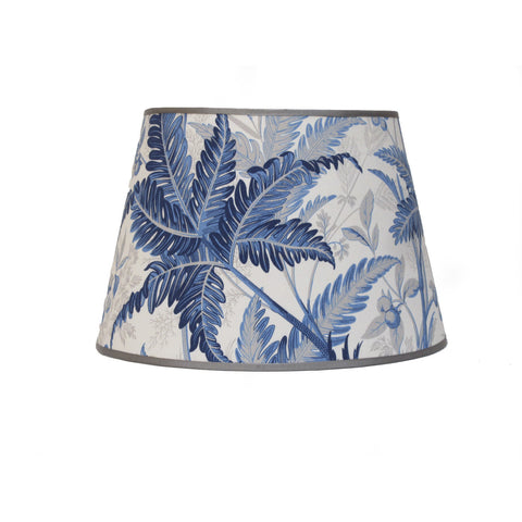 Tropic Leaves Lampshade/Indigo