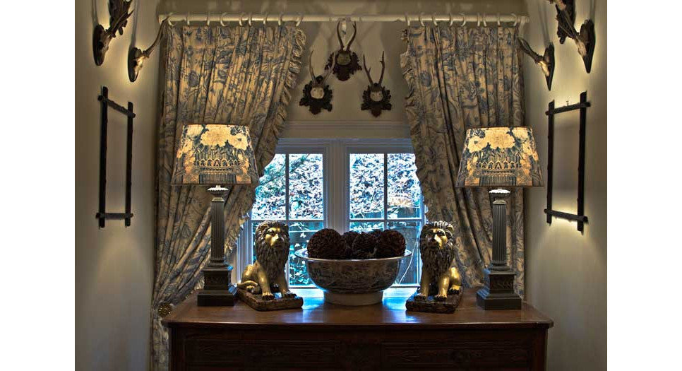 New Vintage Collection custom lampshades and curtains