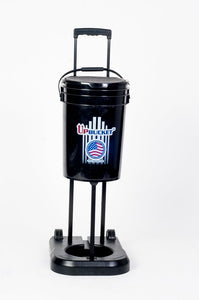 UpBucket (FACTORY) - Elevates & Rolls! Baseball, Softball, Tennis Ball Bucket - Great for any sport!