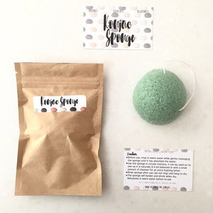 Konjac Sponge with Green Clay