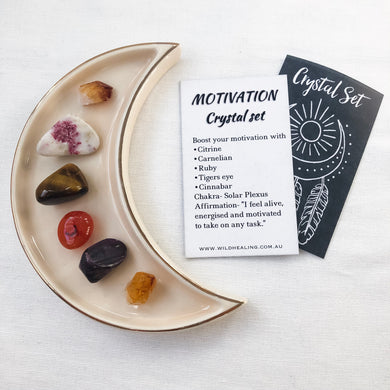 Motivation Crystal Set