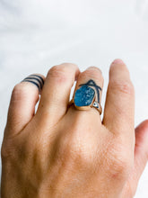 Load image into Gallery viewer, Aquamarine Ring Size 8