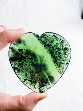 Antigorite Slice Heart