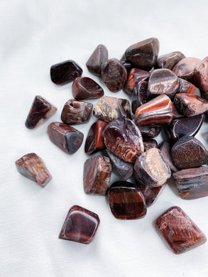 Red Tigers Eye Tumbles