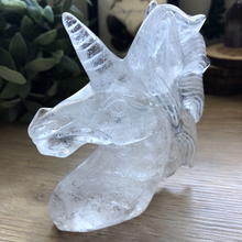 Load image into Gallery viewer, Clear Quartz Unicorn