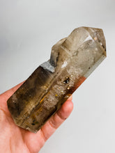 Load image into Gallery viewer, Smoky Quartz Point with inclusions