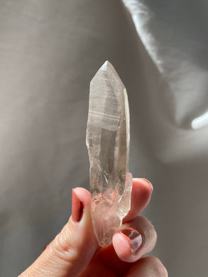 Lemurian Smoky Quartz Wand