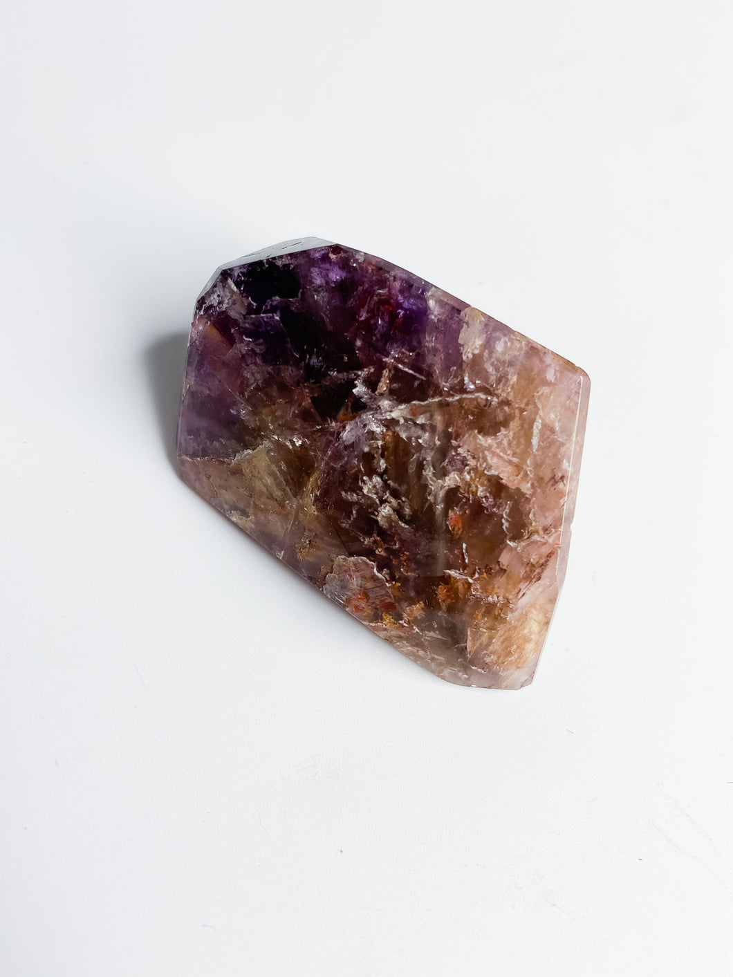 Amethyst Cacoxenite Free Form