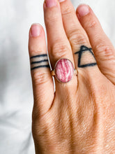 Load image into Gallery viewer, Rhodochrosite Ring Size 6