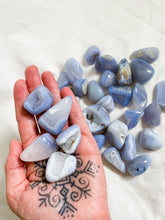 Load image into Gallery viewer, Blue Lace Agate Large Tumble Stones