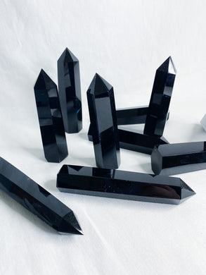 Obsidian Points Large
