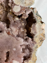 Load image into Gallery viewer, Pink Amethyst Geode Slab