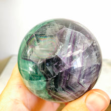 Load image into Gallery viewer, Rainbow Fluorite Sphere