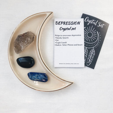 Depression Crystal Set