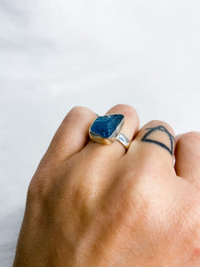 Aquamarine Ring Size 7