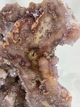 Load image into Gallery viewer, Pink Amethyst Geode Cut Base