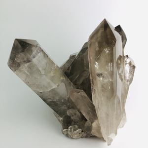 Smoky Quartz Cluster