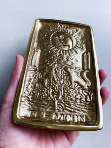 Moon Tarot Metal Dish