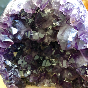 Amethyst Cluster cut base