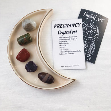 Pregnancy Crystal Set