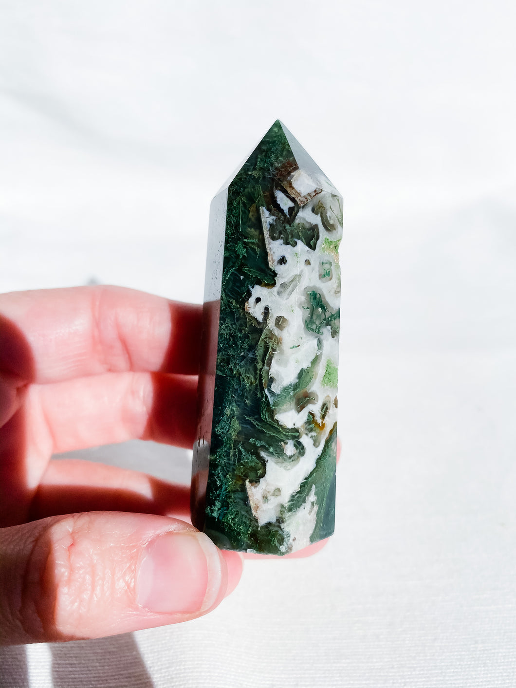 Moss Agate Point