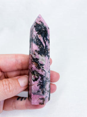 Rhodonite Point