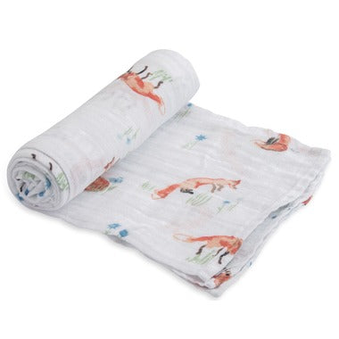 Coperta Swaddle Milleusi - Volpi - Apple Pie