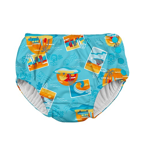 Costume contenitivo bimbo - Aqua Surf - Apple Pie