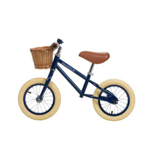 Bicicletta senza Pedali First Go! - Navy - Apple Pie