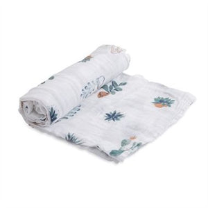Coperta Swaddle Milleusi - Cactus - Apple Pie