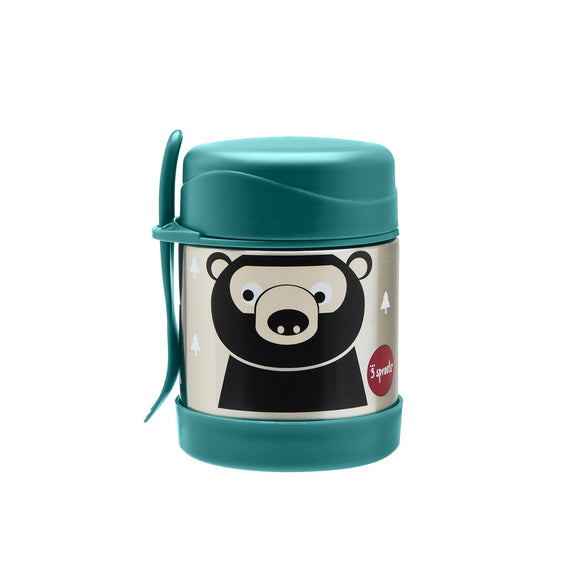 Thermos Porta Pappa in Acciaio - Orso - Apple Pie