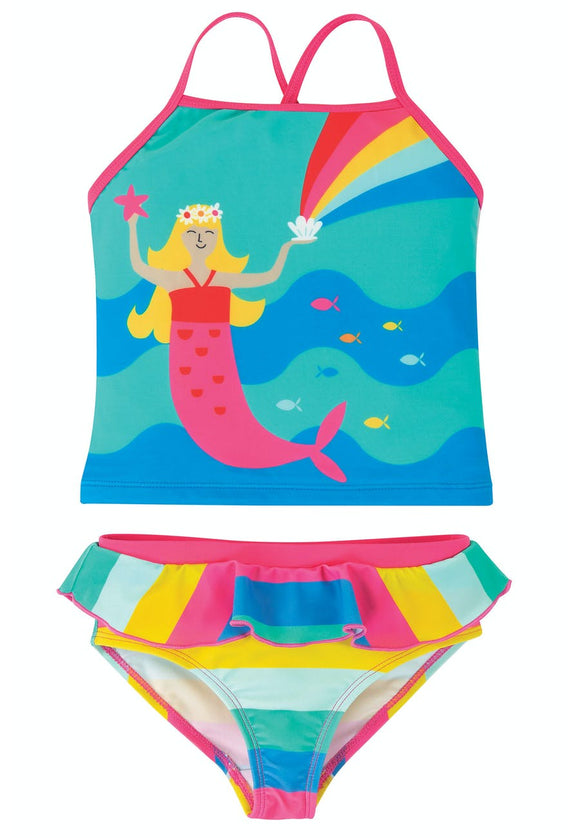 Costume da Bagno Tankini UPF 50+ Sirenetta - Apple Pie