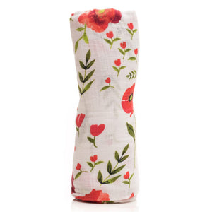 Coperta Swaddle Milleusi - Summer Poppy - Apple Pie