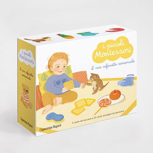 "I Piccoli Montessori ""Il Cofanetto Sensoriale"" - Apple Pie"