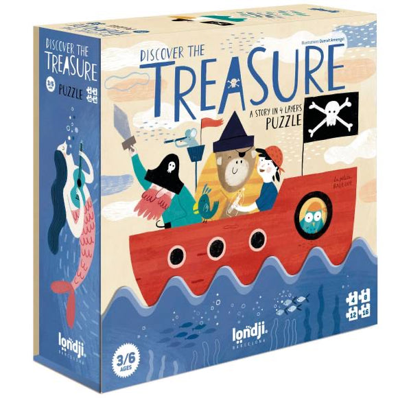 4 Puzzle - Discover the Treasure