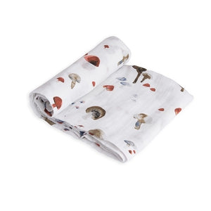 Coperta Swaddle Milleusi - Funghetti - Apple Pie