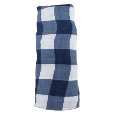 Coperta Swaddle Milleusi - Jack Plaid - Apple Pie