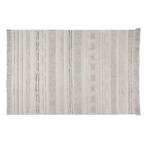 Tappeto Lorena Canals in cotone 200 x 300 cm - Air Natural XL - Apple Pie