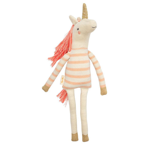 Peluche Unicorno Izzy, 100% cotone bio - Apple Pie