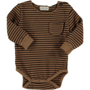 Body BEAR Caldo Cotone Bio Caramello - Comfort totale - Apple Pie