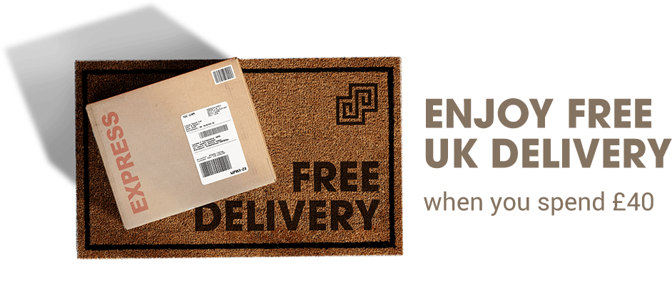 FREE UK DELIVERY WHEN YOU SPEND £40