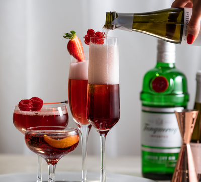 Strawberry Fields Kir Royale