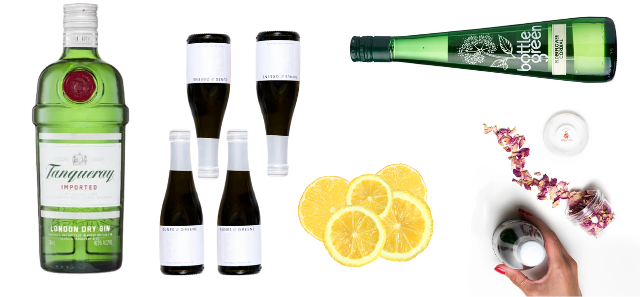 Elderflower French 75 - Large