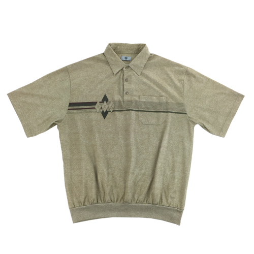 90s Cotton Polo Shirt - XL