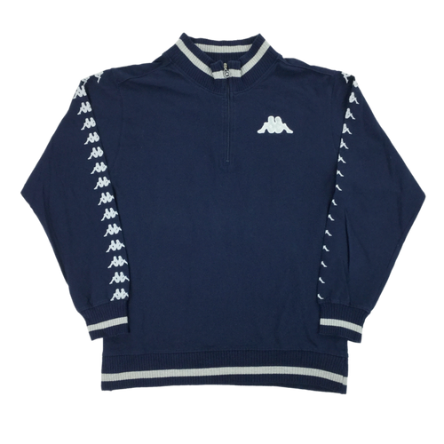 Kappa 1/4 Zip Sweatshirt - Medium