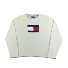 Load image into Gallery viewer, Tommy Hilfiger Big Logo Sweatshirt - XL