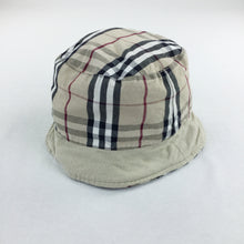 Load image into Gallery viewer, Burberry Reversible Bucket Hat - L/XL
