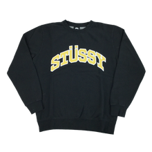 Load image into Gallery viewer, Stussy Deadstock Warp Logo Sweatshirt - S/L
